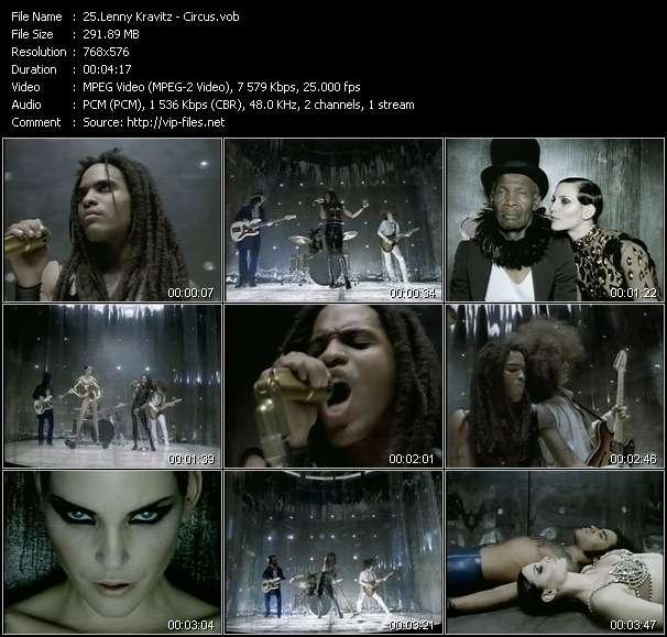 Lenny Kravitz video screenshot