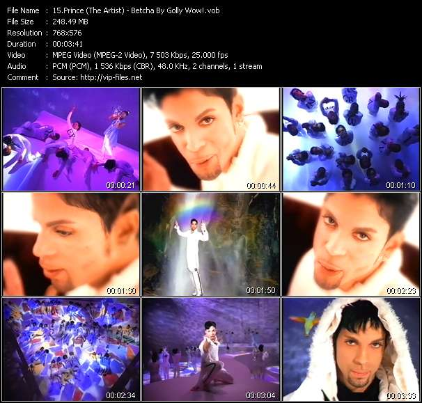 Prince (The Artist) video screenshot