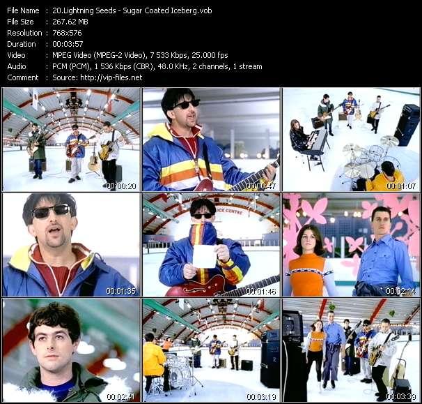 video Sugar Coated Iceberg screen