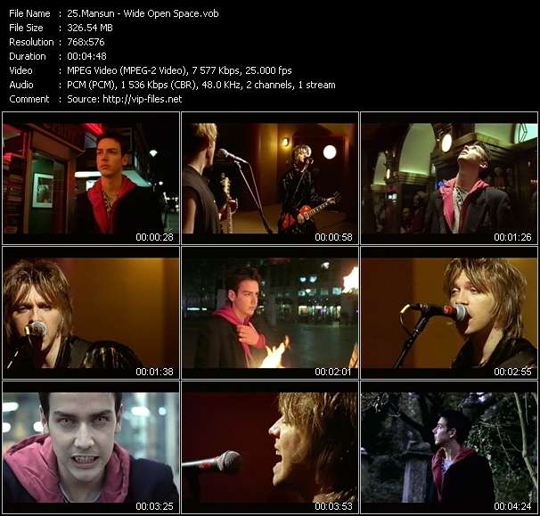 Mansun video screenshot
