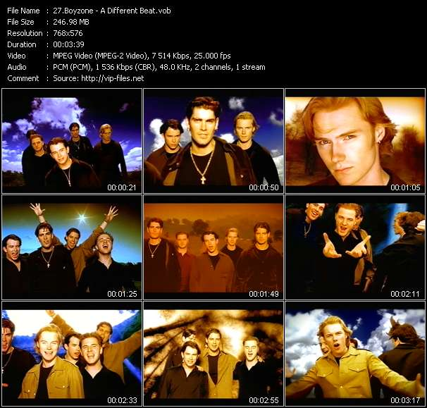 Boyzone video screenshot