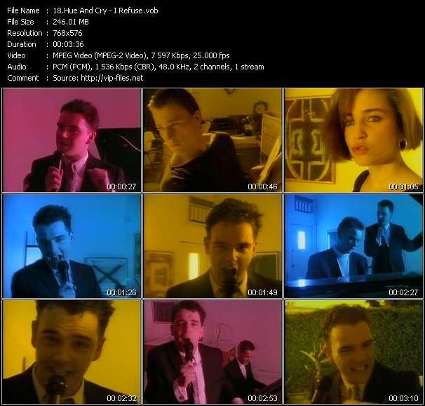Hue And Cry video screenshot