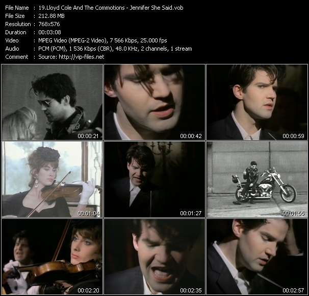 Lloyd Cole And The Commotions video screenshot