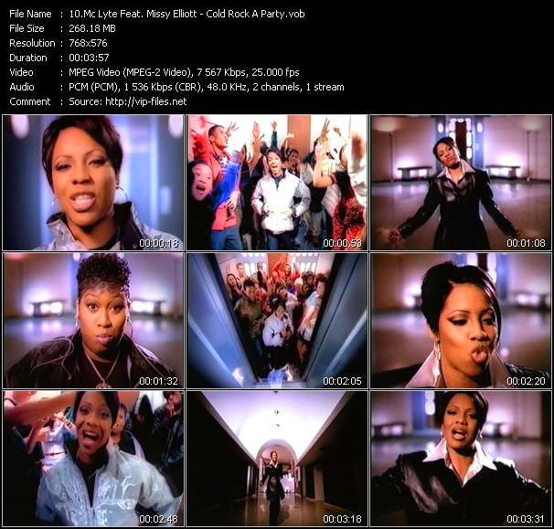 Mc Lyte Feat. Missy Elliott video screenshot