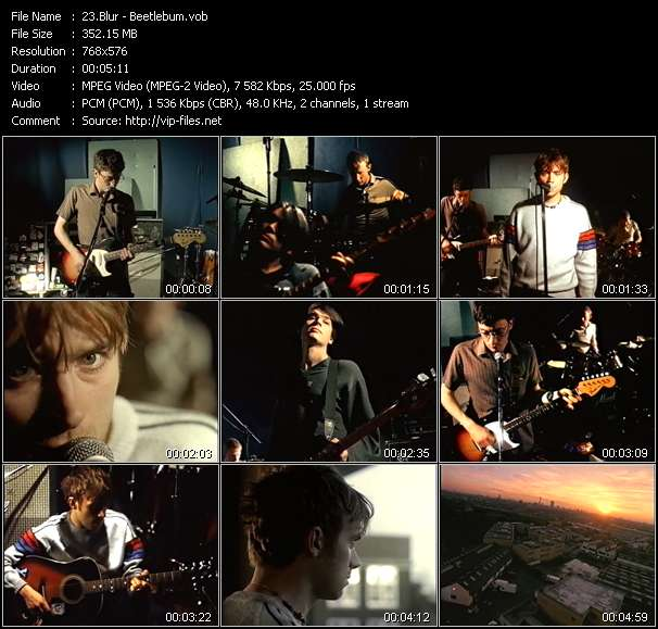 Blur video screenshot