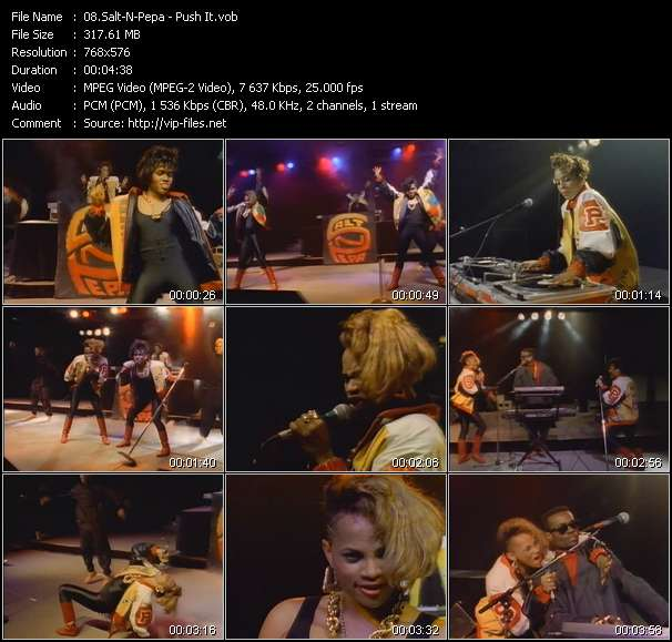 Salt-N-Pepa video screenshot