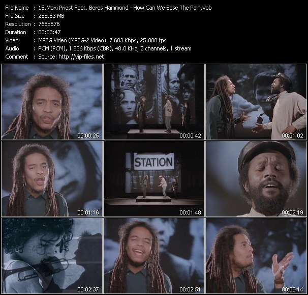 Maxi Priest Feat. Beres Hammond video screenshot