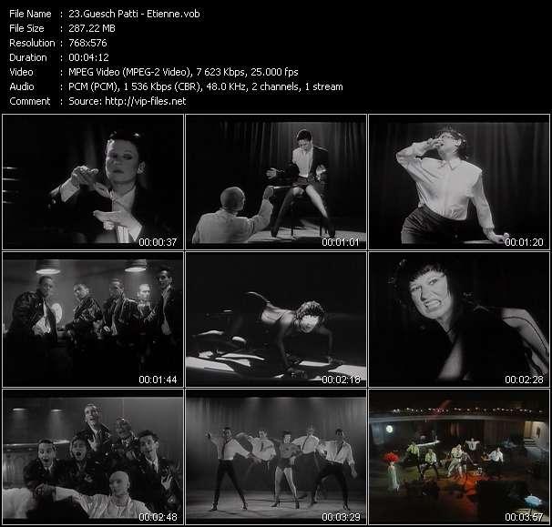 Guesch Patti video screenshot