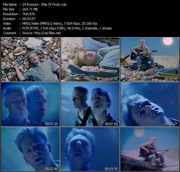 Erasure video screenshot