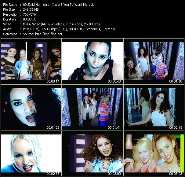 video I Want You To Want Me screen