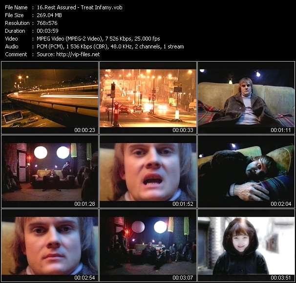 video Treat Infamy screen