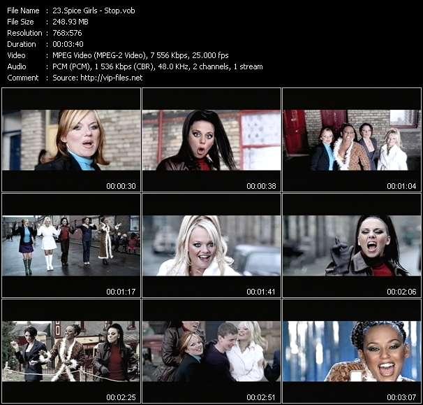 video Stop screen