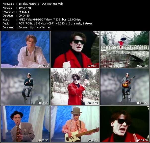 Blow Monkeys video screenshot