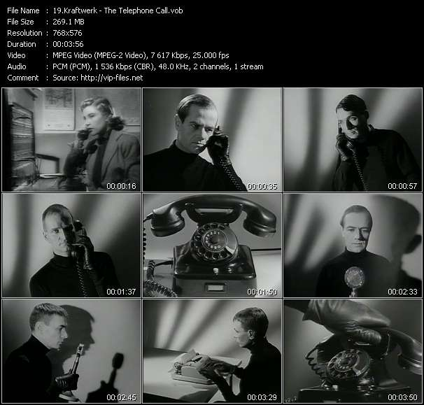 Kraftwerk video screenshot