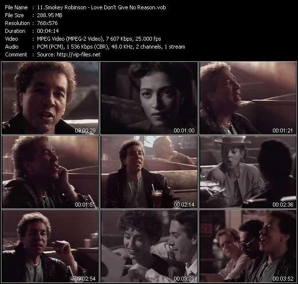 Smokey Robinson video screenshot