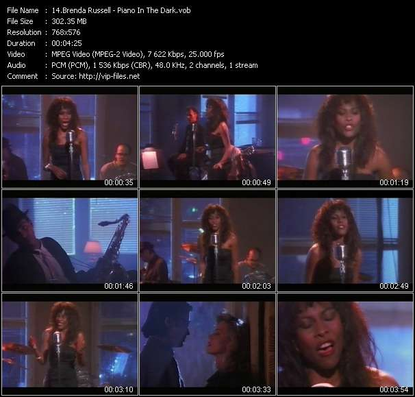 Brenda Russell video screenshot