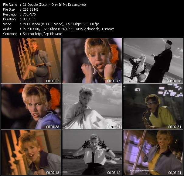 Debbie Gibson video screenshot