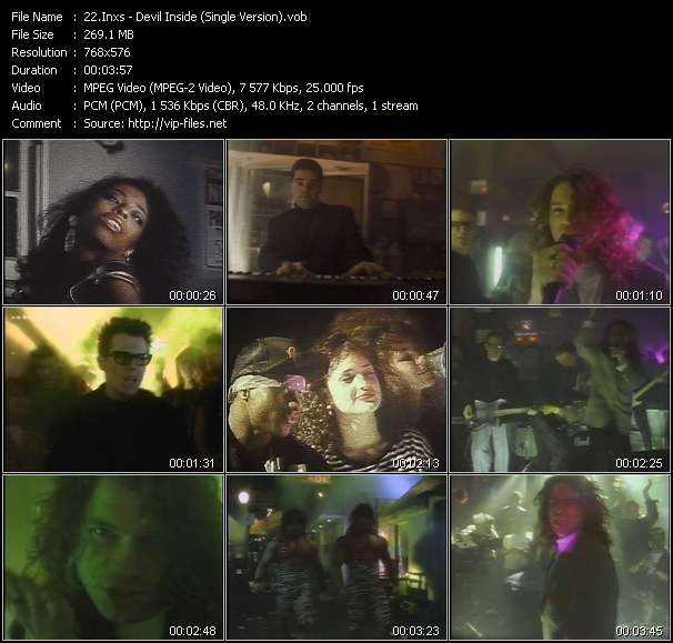 video Devil Inside (Single Version) screen
