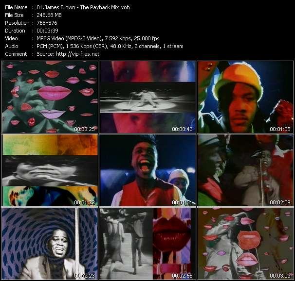 James Brown video screenshot