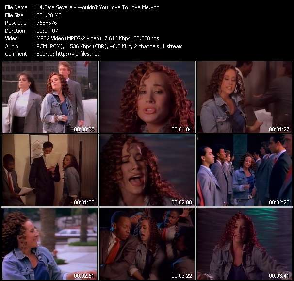 Taja Sevelle video screenshot