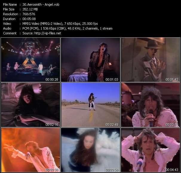 Aerosmith video screenshot