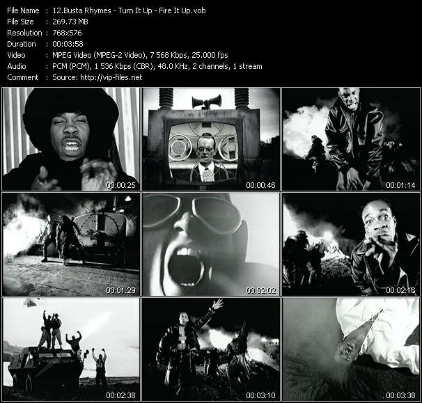 Busta Rhymes video screenshot