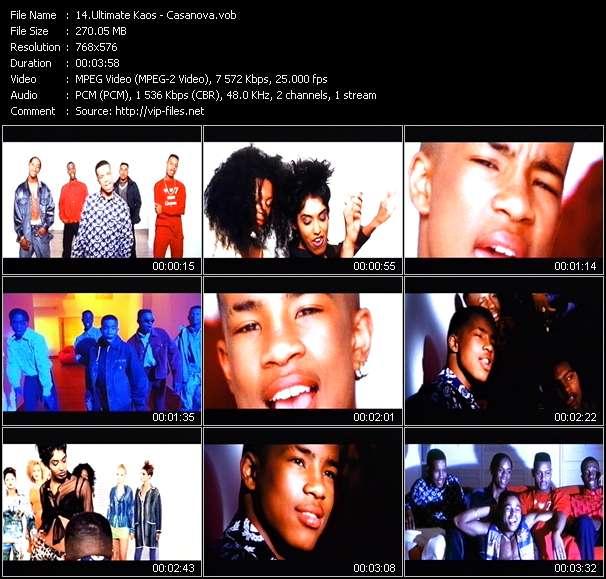 video Casanova screen