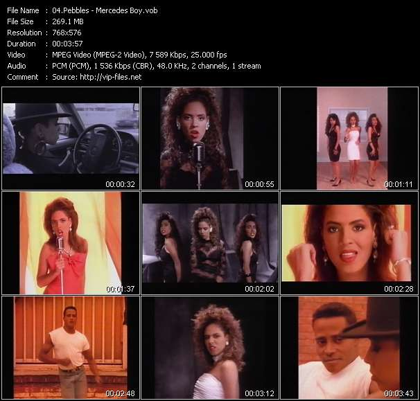 Pebbles video screenshot