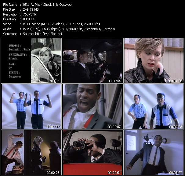 L.A. Mix video screenshot