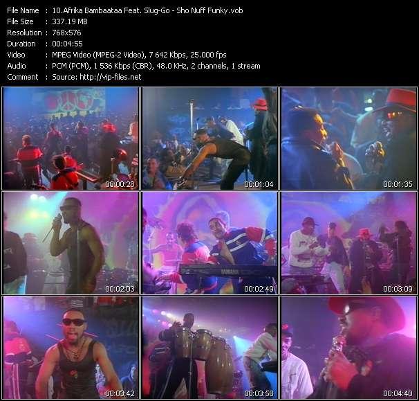 Afrika Bambaataa Feat. Slug-Go video screenshot