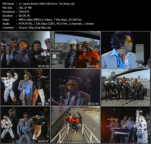 James Brown With Full Force video screenshot