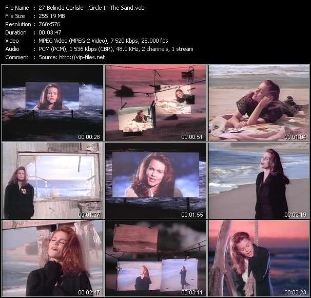 Belinda Carlisle video screenshot
