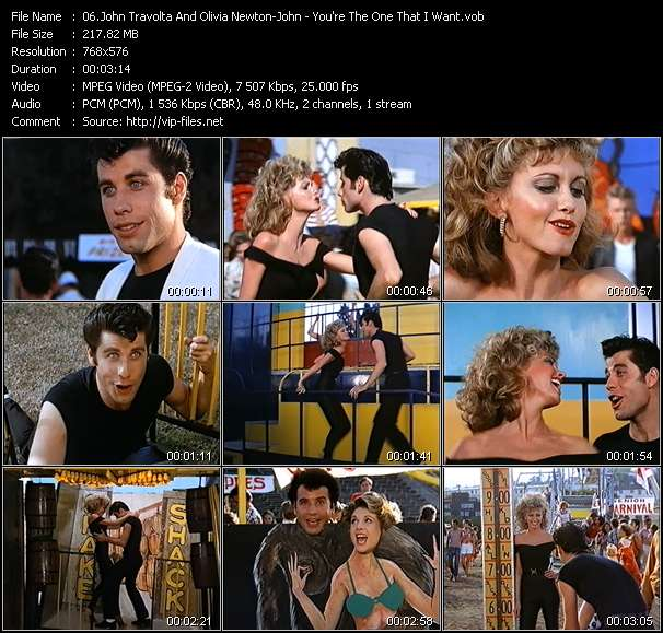 John Travolta And Olivia Newton-John video screenshot