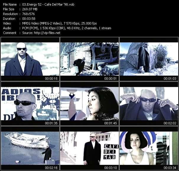 video Cafe Del Mar '98 screen