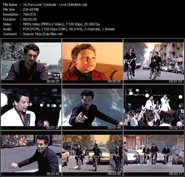 video Love Unlimited screen