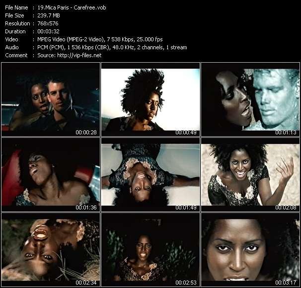 video Carefree screen