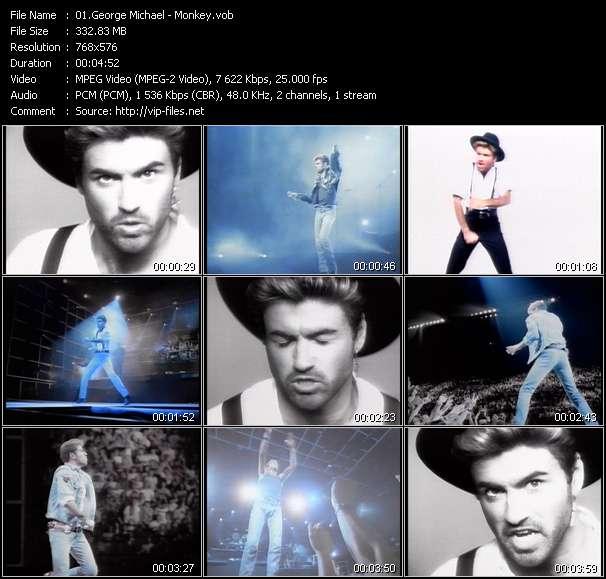 George Michael video screenshot