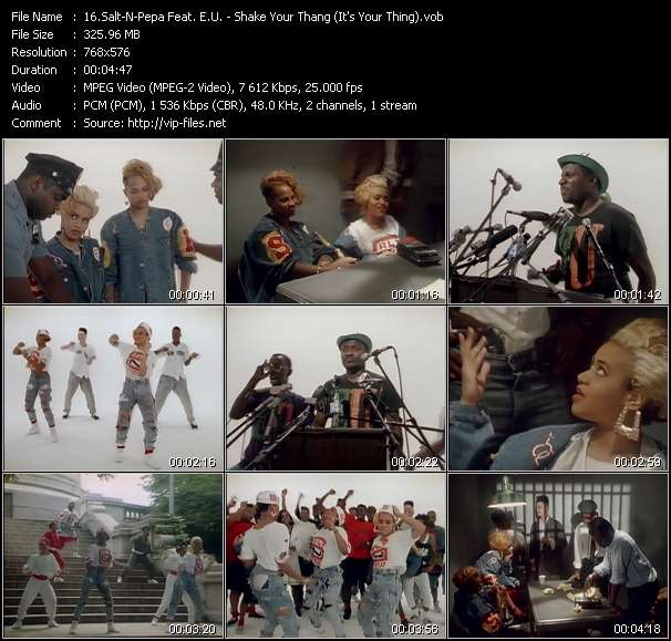 Salt-N-Pepa Feat. E.U. video screenshot