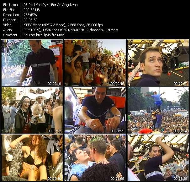 Paul Van Dyk video screenshot