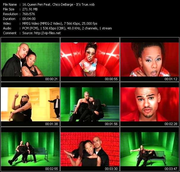 Queen Pen Feat. Chico DeBarge video screenshot