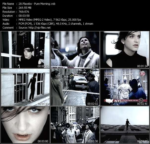 Placebo video screenshot