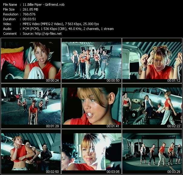 Billie Piper video screenshot