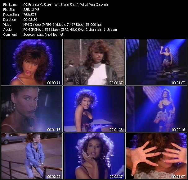 Brenda K. Starr video screenshot