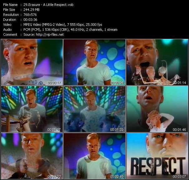 video A Little Respect screen