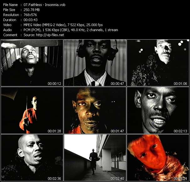 Faithless video screenshot