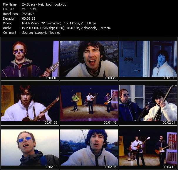 Space video screenshot