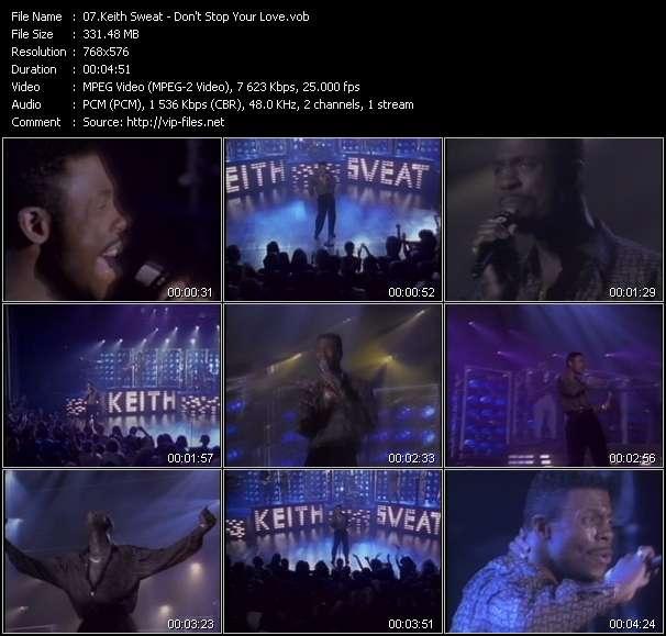 Keith Sweat video screenshot