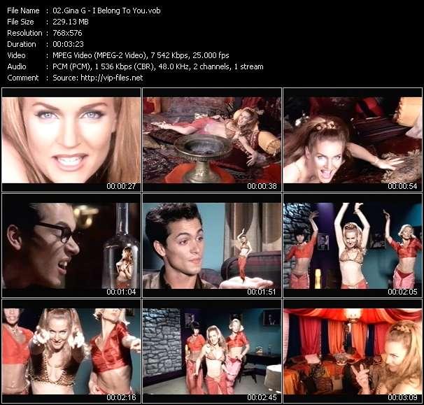 Gina G video screenshot