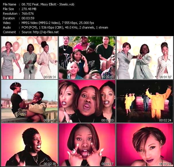 702 Feat. Missy Elliott video screenshot