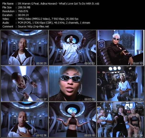 Warren G Feat. Adina Howard video screenshot